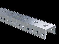 П-подібний профіль PSL, довжина 3000 мм, товщина 1,5 мм, гарячого цинкування