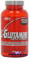 HYPERSTRENGTH- USA	GLUTAMINE 300 g. Глютамин