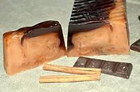 """Мыло развесное ручной работы """"Топленный шоколад"""""""