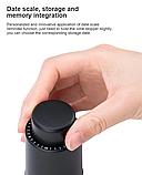 Вакуумна герметична пробка кришка для вина з функцією пам'яті, фото 5