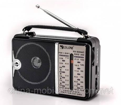 Радиоприемник всеволновой FM AM SW GOLON RX-606AC