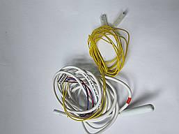 Датчик температури INDESIT (162.003,118,00) ( 2 датчика на 1 фішку + жовтий ) Все по 10 кОм 125/155 см про
