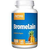 Бромелайн из ананаса, помогает пищеварению,  Jarrow Formulas, 500 мг, 60 табл.