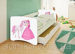 Кровать детская Хепи Бейби Принцесси Дисней много рисунков