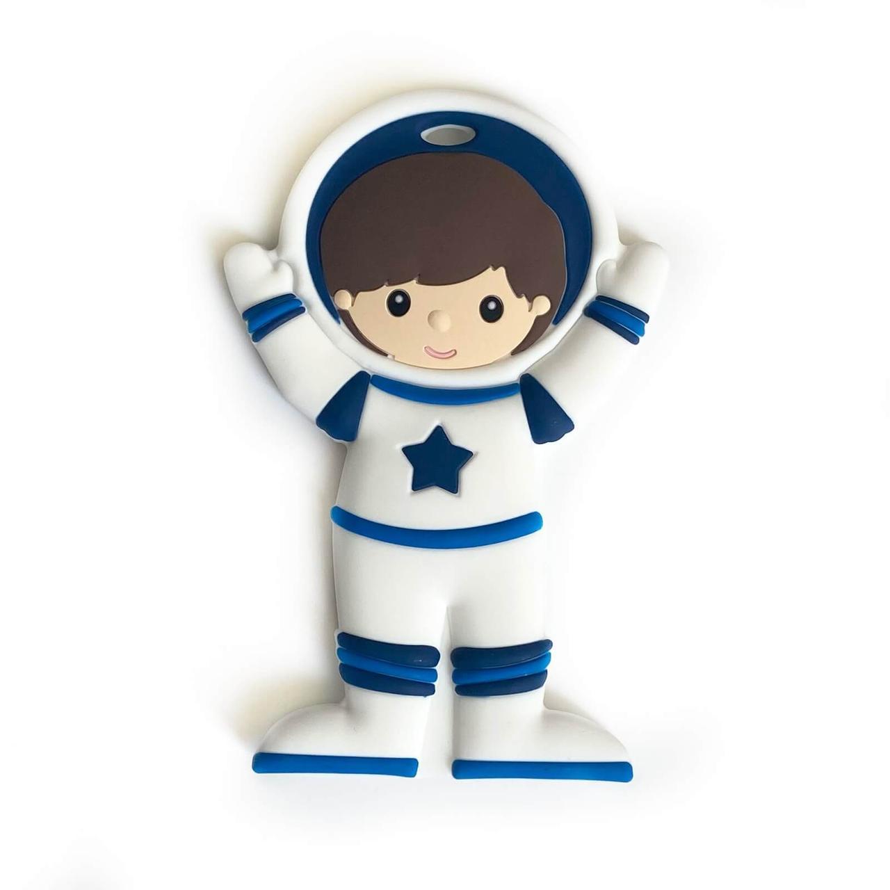 Космонавт (темно-синий), силиконовый прорезыватель для зубов