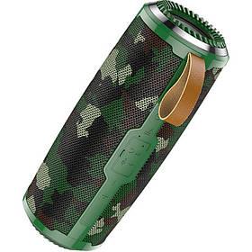 Беспроводная Bluetooth колонка Hoco BS38 Cool Freedom Wireless Speaker Camouflage Green