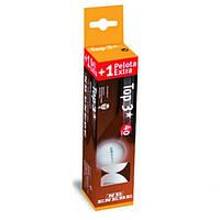 Набор мячей для настольного тенниса Enebe Caja 3+1 Pelotas NB Top 3* Blanco 40 мм (AS)