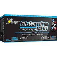 OLIMP - L-Glutamine Mega Caps  blister  120 caps. Глютамин который содержит высокую дозу глютамина