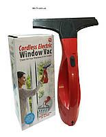 Беспроводный вакуумный скребок для окон Cordless Electric Window Vac (щетка Колдрес Электрик Виндов Вак)