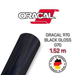 Чорна глянсова плівка Oracal 970, Gloss Black 070