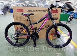 Підлітковий Велосипед Crosser Sweet 24 (14) чорно-рожевий