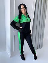 Спортивний костюм жіночий 42-44,46-48,50-52 Зелений,Жовтий,Лаванда, фото 2