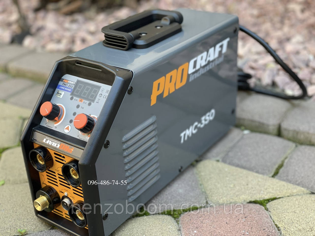 Сварочный инвертор плазморез аргон Procraft Industrial TMC-350 CUT+TIG+MMA