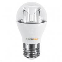 Лампа светодиодная Евросвет шар P-5-4200-27C 5вт 230V