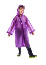 Дождевик детский для мальчиков SP-Sport C-1010 120-160см C-1010 Фиолетовый