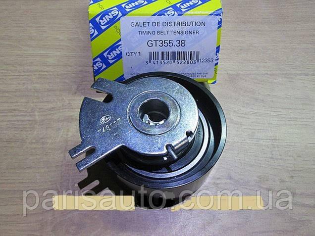 Натяжной ролик, ремень ГРМ NTN-SNR GT355.38  Renault Master 2,2 2,5 dCi  (8200127467, 8200007980)