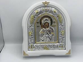 Икона Божьей Матери Владимирская в рамке из дерева