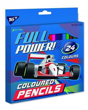 """Карандаши 24 цветов """"Full Power"""", 1Вересня, 290548, фото 2"""