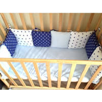 Бортики-подушечки для детской кроватки