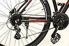 """Велосипед 29"""" JURA Oskar чорно-червоний, фото 4"""