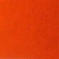 Фетр листовой оранжевый 20х30 см., толщина 1мм, WB 7725