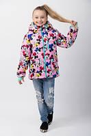Модная демисезонная куртка для девочек