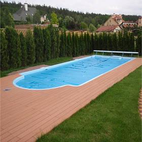 """Скловолоконні басейни """"під ключ"""""""