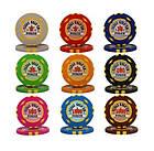 Профессиональный покерный набор Texas Holdem Poker 300 номинальных фишек в кейсе, фото 3