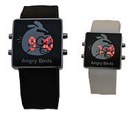 Часы наручные M210 LED Angry Birds,электронные наручные часы, женские наручные часы, мужские часы