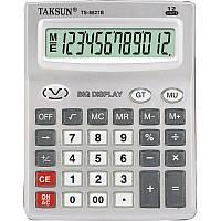 Настольный калькулятор TS-8827B-12: большой экран, удобные износостойкие клавиши