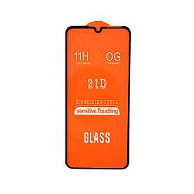 Защитное стекло XD+ 21D для ZTE Blade A7 2019, Черное