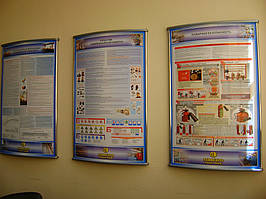 Стенды и плакаты по охране труда и технике безопасности 10
