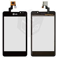 Touchscreen (сенсорный экран) для LG Optimus 3D Max P725, оригинал (белый)