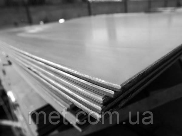 Лист  25 мм сталь 20