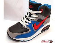 Кроссовки женские зимние Nike Air Max на меху NI0047