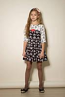Платье для девочки подростка, размеры 32, 34, 36, 38. (арт.ПЛ65)