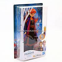 Лялька Hasbro Frozen Холодне серце 2 Ганна в блискучій сукні, 29 см (E6952_E7001)