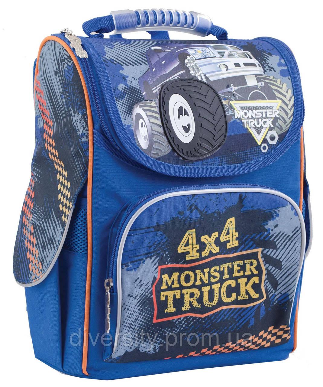 """Ранець каркасний H-11 """"Monster Truck"""" , серія """"Classic"""" 553296"""