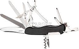 Нож PARTNER HH082014110 на 13 инстр. черный