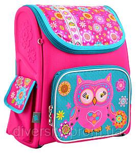 Шкільний каркасний рюкзак H-17 Owl 555100