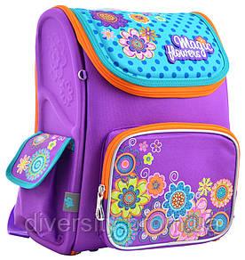 Шкільний каркасний рюкзак H-17 Flowers 555102