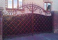 Кованные ворота 2490
