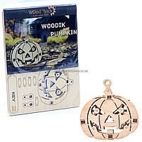 Деревянный конструктор Wood Trick Вудик тыква, 18 деталей. Техника сборки - 3d пазл