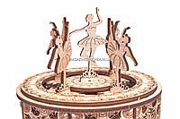 Деревянный конструктор Wood Trick Танцующие балерины, 48 деталей.Техника сборки - 3d пазл