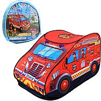Дитячий ігровий намет Shantou Jinxing «Пожежна машина», 126*70*70 см (6014A)