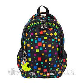 """Підлітковий шкільний рюкзак BP-58 """"GAME OVER"""" ST.RIGHT 627101"""