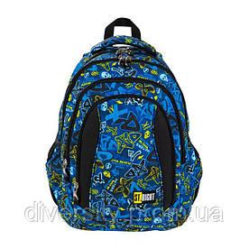 """Підлітковий шкільний рюкзакBP-04 """" XD ART """" 627033"""