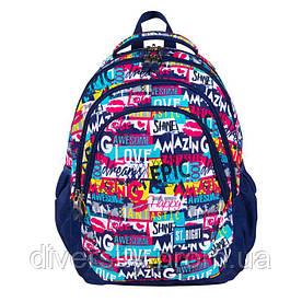 """Підлітковий шкільний рюкзак BP-06 """"SLOGAN"""" ST.RIGHT 626098"""