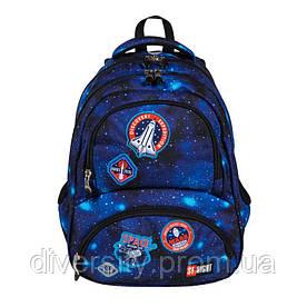 """Підлітковий шкільний рюкзак BP-07 """" COSMIC MISSION ST.RIGHT 627460"""