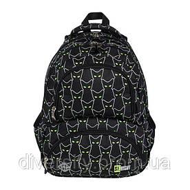 """Підлітковий шкільний рюкзак BP-07 """"REFLECTIVE CATS"""" ST.RIGHT 625534"""